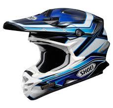 safest motocross helmet shoei vfx w motocross mx helmet capacitor tc 2 blue white