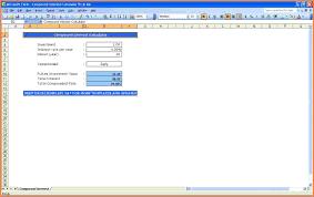 Rental Property Calculator Spreadsheet 6 Compound Interest Calculator Spreadsheet Excel Spreadsheets Group