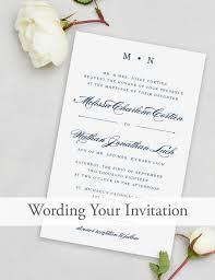 Wedding Invite Verbiage Wedding Invite Language Wedding Invitations