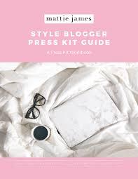 blogger guide pdf style blogger press kit guide pdf mattiejames com