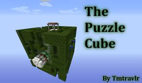 Minecraft 1 8 Adventure Maps The Puzzle Cube A Puzzle Map By Tmtravlr Maps Mapping And
