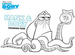 finding dory coloring sheets marlin nemo birthdays