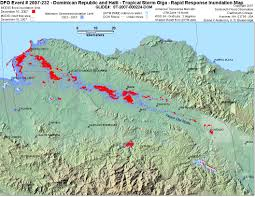 St Thomas Map Dominican Republic And Haiti Tropical Storm Olga Rapid Response