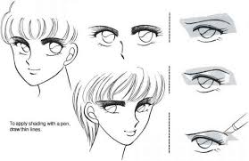 types of hair lines different types of eyesj female manga characters joshua nava arts