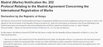 wipo international bureau kenya set to earn millions in individual fees from wipo madrid