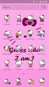 hello kitty themes for xperia c hello kitty theme free android theme download appraw