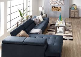 Cuddler Chaise Furniture Sofa With Cuddler Sectional With Cuddler Denim