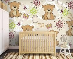 papier peint pour chambre d enfant ours flottants papier peint pour la chambre d enfant papiers