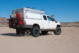 2004 Tacoma Roof Rack by Habitat Truck Topper At Overland