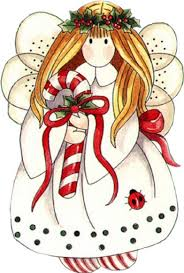 christmas angel clipart of a christmas angel happy christmas new year greetings