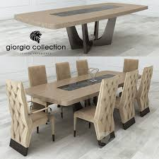 giorgio collection dining tables 3d models table chair giorgio collection lifetime table and chair