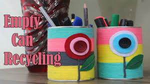 diy tin can recycling home decor crafts out of tin cans life
