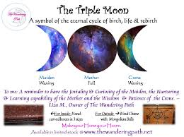 moon eternal cycle symbol the wandering path llc