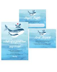 whale baby shower whale invitation set for boy baby shower instant