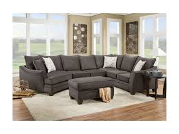 Left Sided Sectional Sofa American Furniture 3810 Sectional Sofa That Seats 5 With Left Side