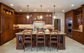 kitchen design island table seats 6 french country kitchen looks