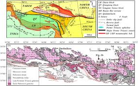 Tibetan Plateau Map Reworking Of Old Continental Lithosphere An Important Crustal