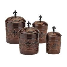 brown kitchen canister sets versailles 4 kitchen canister set reviews wayfair