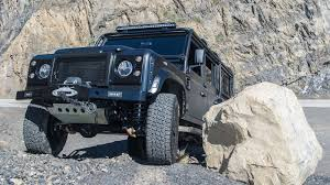new land rover defender 2013 i was not prepared for the brutality of a corvette powered land