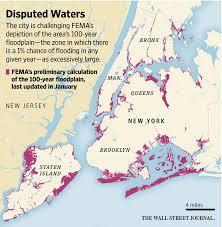 fema region map york disputes fema on flood risk wsj