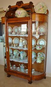 Antique Breakfront China Cabinet by 91 Best Victorian China Cabinets Images On Pinterest China
