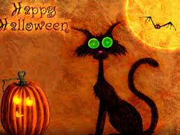 halloween pumpkins wallpaper happy halloween black cat and pumpkin wallpaper images pictures