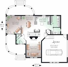 European Floor Plans Farmhouse Style House Plan 4 Beds 2 5 Baths 2099 Sq Ft Plan 23