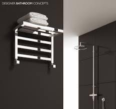 bathroom towel rack decorating ideas designer heated towel rails for bathrooms home design ideas