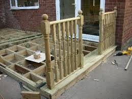 Banister Rail Fixings Fitting Newel Posts Decking