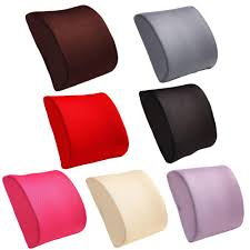 buy bestrelief memory foam lumbar support cushion better day store