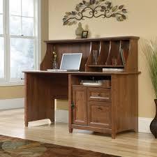 Sauder Computer Desk With Hutch by Sauder Edge Water Computer Desk In Chalked Chestnut Decorative
