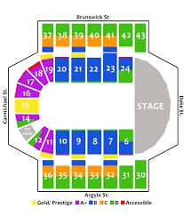 Sydney Entertainment Centre Floor Plan Tickets