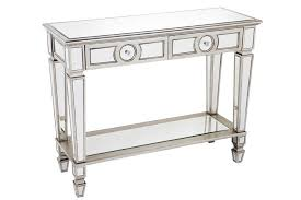 glass mirrored console table inspiration ideas hall console table with mirror with details about