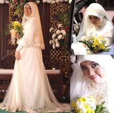 wedding dress indonesia izzi iskandar myumyu my muslim wedding dress wedding dress
