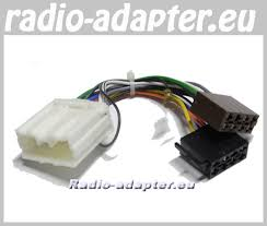 mitsubishi galant 1997 2006 car stereo wiring harness iso lead