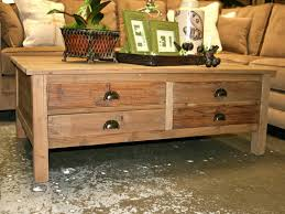 coffee table reclaimed wood and storage coffee table diy large