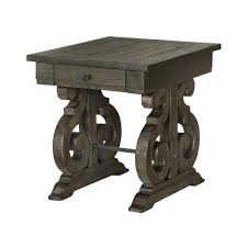 weathered pine coffee table weathered pine end table bellamy rc willey furniture store