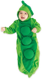 9 Month Halloween Costumes Amazon Rubie U0027s Pea Pod Baby Bunting Costume Clothing