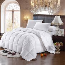 Goose Down Comforter Queen Best All Season White Goose Down Comforter Oversized Queen King On