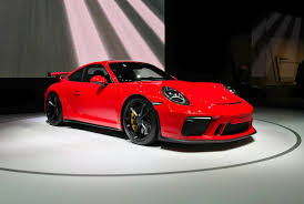 new porsche 911 2018 2017 nyias 2018 porsche 911 gt3 gets 500 hp autonation drive