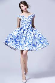collection of blue white dress best fashion trends and models