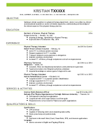 sample pediatric therapist resume pediastaff pediatric slp ot and
