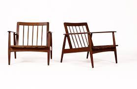 Mid Century Outdoor Chairs Rare Pair Mid Century Lounge Chairs Moreddi African Teak
