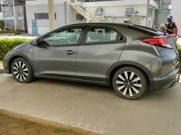 2017 honda civic spotted at honda india u0027s factory launch later