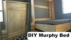 Floating Bed Construction by Diy Murphy Bed Without Expensive Hardware Youtube