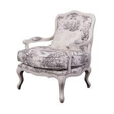 Linen Club Chair St Germain French Country Limed Oak Louis Xvi Beige Linen Club
