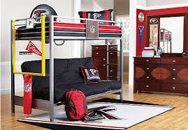 kids roomstogo shop for a nfl redzone 6 pc loft bedroom at rooms to go kids
