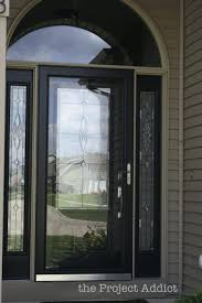 100 screen front door exterior design cool white pella