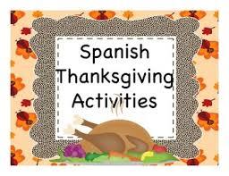thanksgiving día de acción de gracias activities