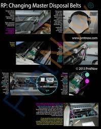 upgrade riso rp3700 rp3790 rp3505 master transfer belts